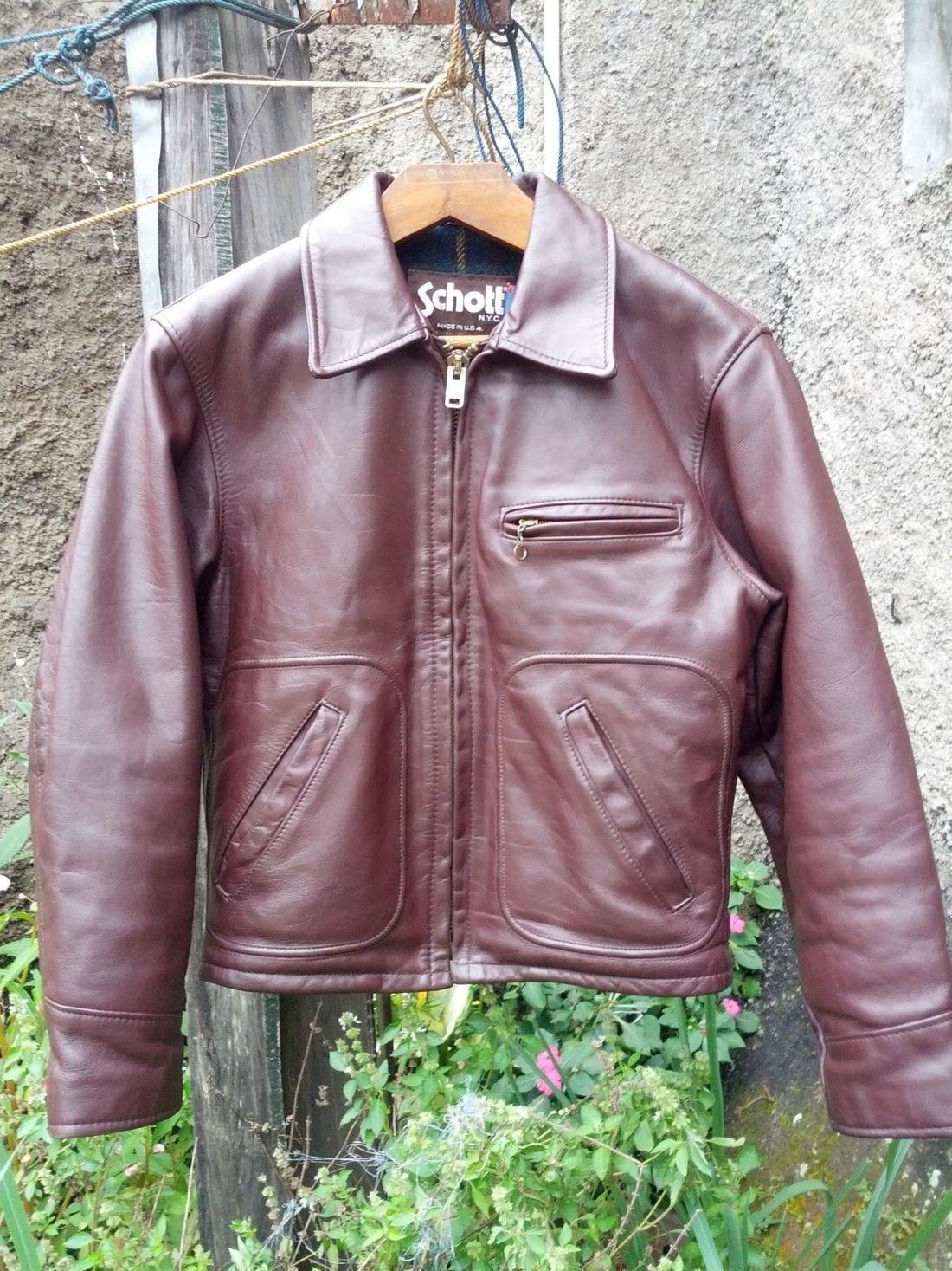 Schott SCHOTT 658 Leather Jacket Size US S / EU 44-46 / 1