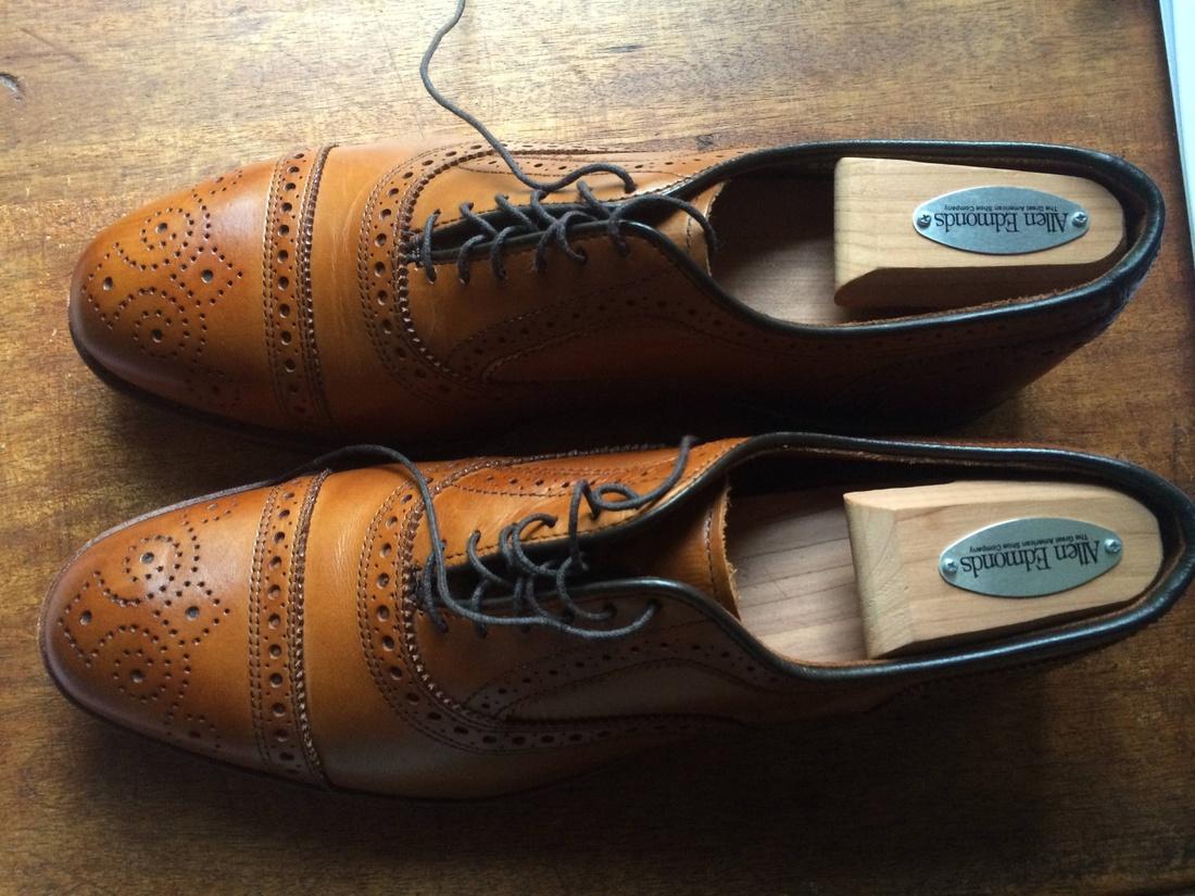 Allen Edmonds Walnut Strand Firsts Size US 8.5 / EU 41-42 - 1