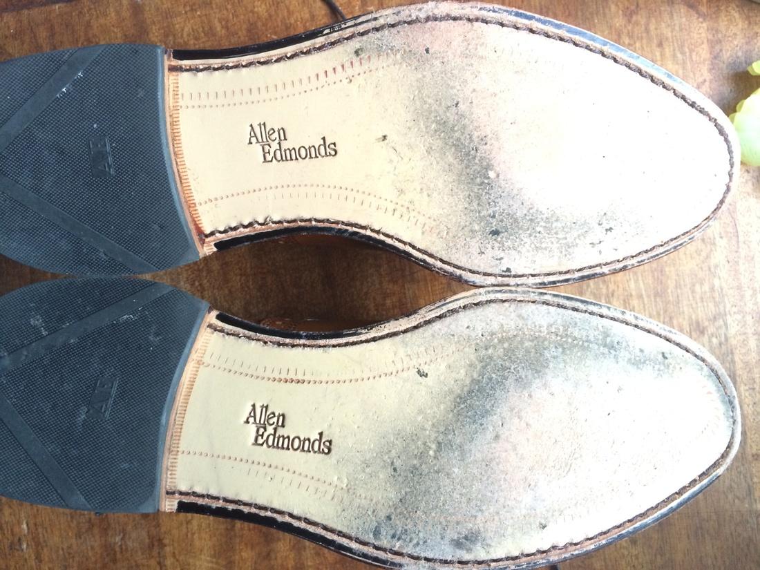 Allen Edmonds Walnut Strand Firsts Size US 8.5 / EU 41-42 - 4